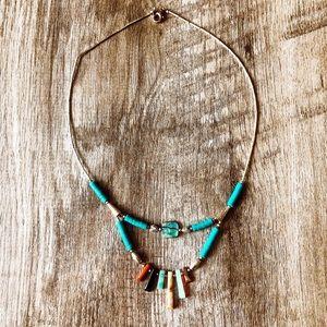 Southwestern style turquoise necklace